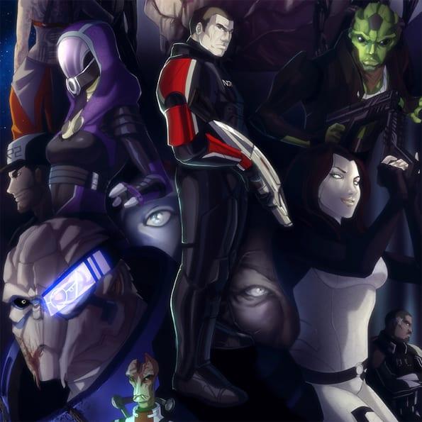 Mass Effect: Anime movie 2012