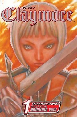 Claymore Manga Series